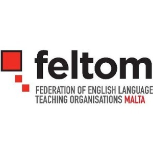 Logo FELTOM Federation of English Language Teaching Organisations Malta